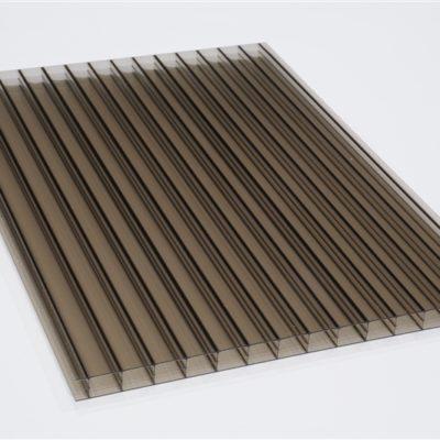 Polykarbonátová platňa LEXAN komorová 16 mm hnedá UV